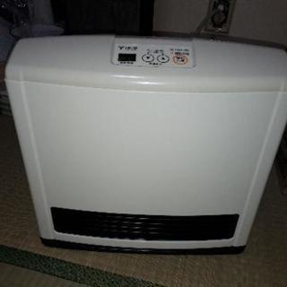 ガスファンヒーター東邦ガス&ホース値下げ