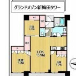📍大阪、福島✨タワーマンション3LDK✴分譲賃貸🐶小型犬🆗