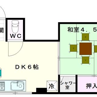 【中川マンション】3号タイプ!1DKタイプ!安くね?