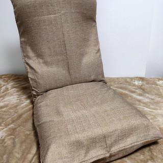 【ほぼ新品】ヤマザキ 座椅子 日本製 ベージュ