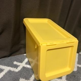 3月30日まで‼️ カラーボックス 黄色(小ボックス)