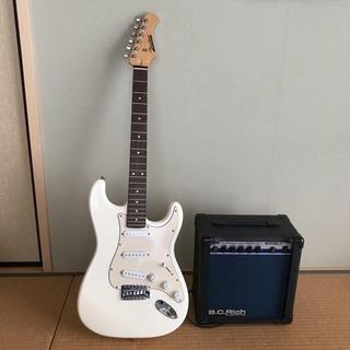 Bacchus ギター B.C.Rich ギターアンプセット