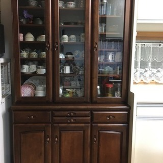 【値下げ】食器棚中古  日本製