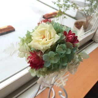 ♥親子さん歓迎レッスン♥ 記念写真に華を添える♥ミニブーケ♥