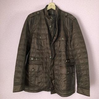 BOSS ボスのキルティング ハーフ コート ブルゾン ジャケット