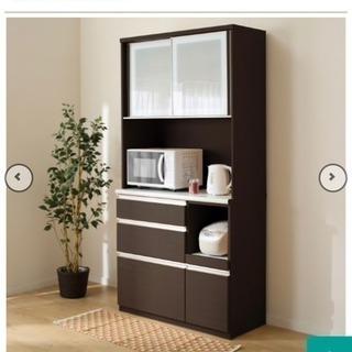 新品同様☆食器棚キッチン収納ニトリおしゃれ幅100cm