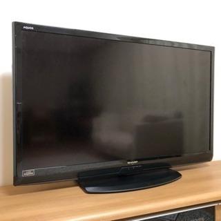 液晶テレビ SHARP AQUOS 46型 ※新品リモコン付き