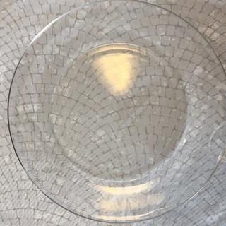 ガラス平皿 4枚