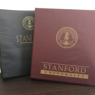 バインダー(スタンフォード大学) お売りします。現地に来れる方限定!