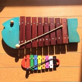 ボーネルンド  おさかな木琴