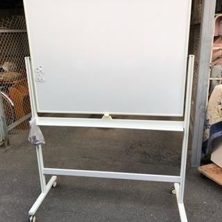 120x90 脚付 片面 ホワイトボード