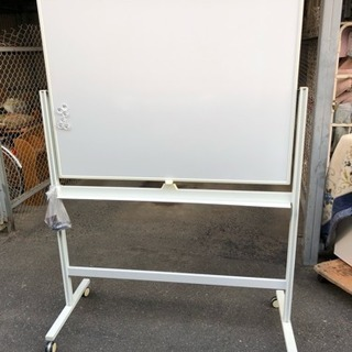 120x90 脚付 片面 ホワイトボード の画像