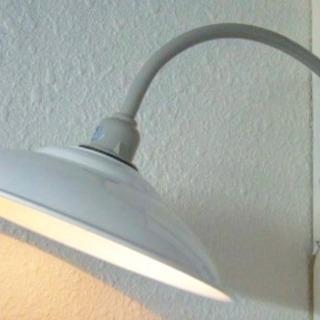 昭和レトロな白い街灯 照明  在庫のみ  未使用