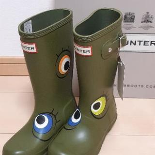 【値下げ】HUNTER 長靴 レインブーツ【希少品】