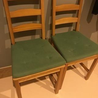 IKEA 椅子 二脚