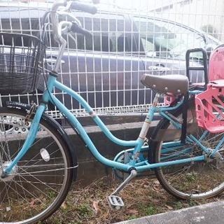 子供のせ自転車 26インチ