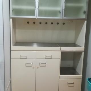 終了:無料!高級アクタスの食器棚 条件アリ