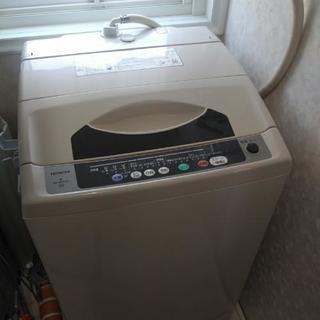 お渡しは3月末になりますが、欲しい方に差し上げます 日立 洗濯機...