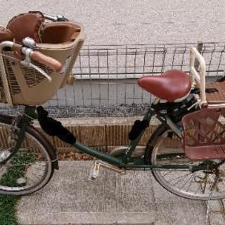 取引中■再々値下げ!&値段交渉可■丸石  ふらっかーず  子供乗せ自転車