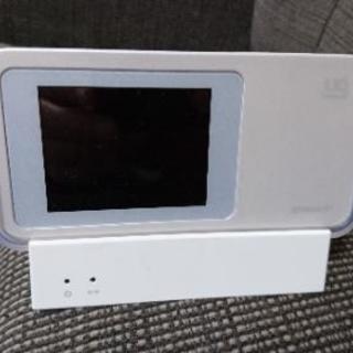 値下げ! au uqモバイル系 モバイルルーター W01 クレー...