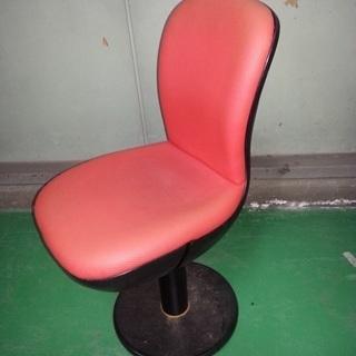大幅値下げ!オレンジのツートンカラーのローリングチェア 椅子祭り!
