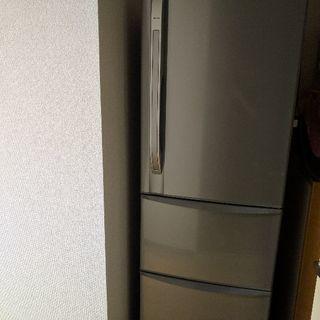 TOSHIBA冷蔵庫3ドア2011年製自動製氷機付375L