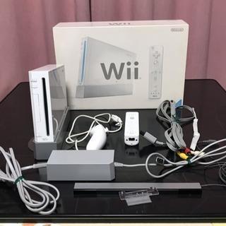 Wii本体セット、付属品、ゲームソフト、バラ売りOK