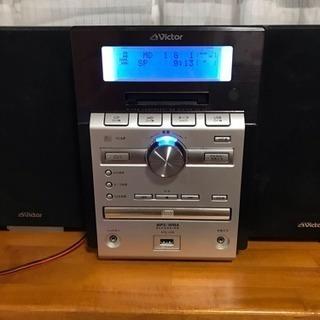 決まりました☆Victor☆CD  MD  カセットコンポ