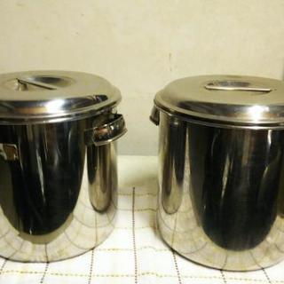 寸銅鍋 ステンレス製 1個
