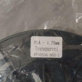 【未開封】3Dプリンター用 半透明PLAフィラメント 3/3残り2個