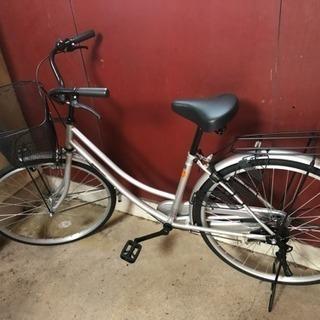 普通の自転車! キレイです!