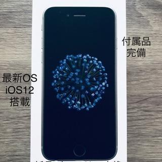 iPhone 6 Space Gray 16GB au