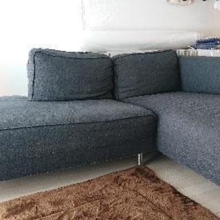 L字ソファーです。