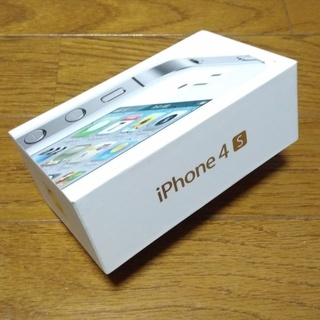 【箱のみ】IPhone 4S 外箱、内箱+説明書等