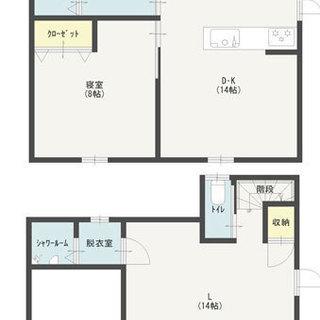 新築未入居の貸家です☆サロンや事務所兼自宅にどうでしょうか(^^♪
