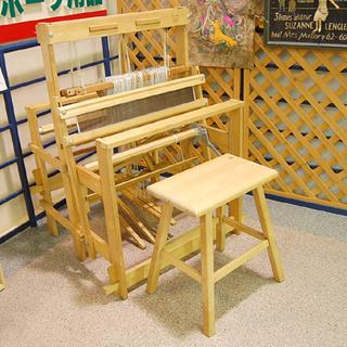 値下げ! TOIKA/トイカ 木製 織り機 折りたたみ可能 イス...