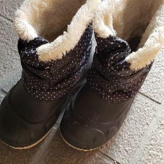 黒ブーツ 23センチ
