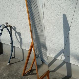 姿見 木製 インテリア 玄関 鏡 大型 ミラー 高級 おしゃれ
