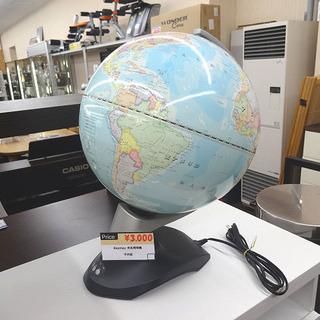 札幌 引き取り 光る地球儀/ライトアップ地球儀 回転します 使用...