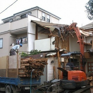 解体工事、造成工事請け業者様、高収入アルバイトの方募集