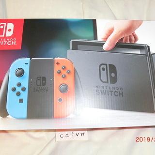 未使用品 Nintendo Switch 本体 ネオンブルー ネ...
