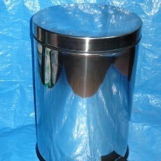 ステンレス ペダルペール缶 ゴミ箱