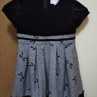 美品  110 女の子 ドレス