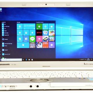 SSD 搭載の レッツノート ノートパソコン 12インチ液晶 P...