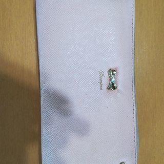 レディース ピンク色の財布 中古品