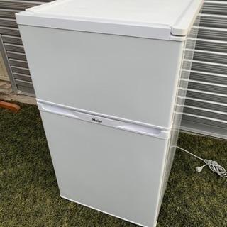 2015年製ハイアール2ドア冷蔵庫91L