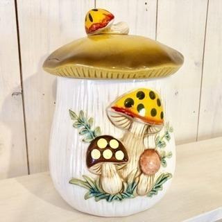ビンテージ 陶器  きのこ