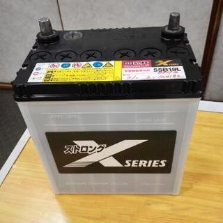 バッテリー55B19L  買って半月 使用1週間