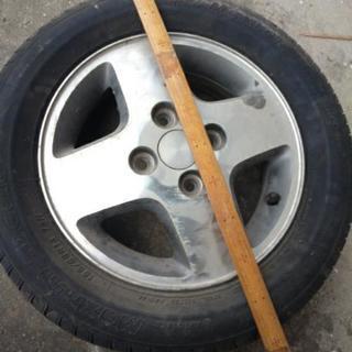 ホイル タイヤもうだめタイヤ155/65R13 73H 傷もの