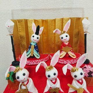お雛祭りに🎵
